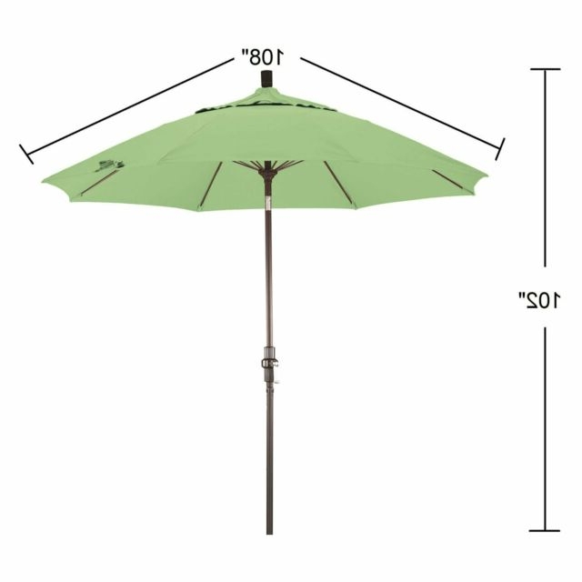 Well Known Phat Tommy Outdoor Oasis 9 Ft Aluminum Market Umbrella With Pacifica Fabric Throughout Phat Tommy Cantilever Umbrellas (View 24 of 25)