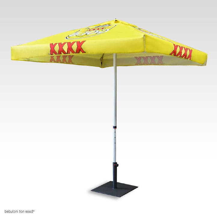 Well Known Printed Market Umbrellas Pertaining To Market Umbrellas (View 9 of 25)