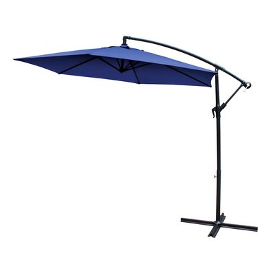 Well Known Vassalboro Cantilever Umbrellas Within Euro Style Collection 10 Cantilever Umbrella (View 12 of 25)