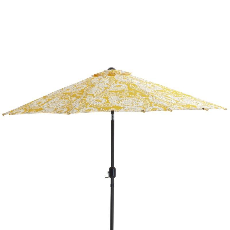 Well Liked Addie 9' Market Umbrella Throughout Folkeste Market Umbrellas (View 12 of 25)