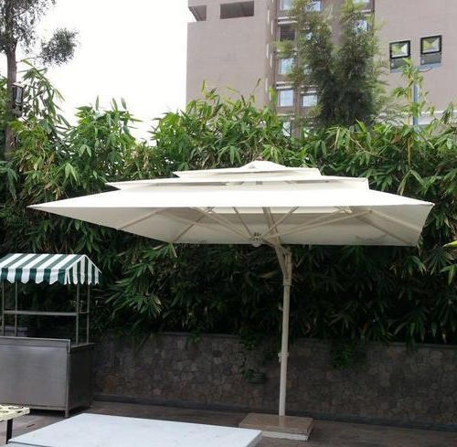 Well Liked Cantilever Umbrellas Pertaining To Cantilever Umbrellas (View 22 of 25)
