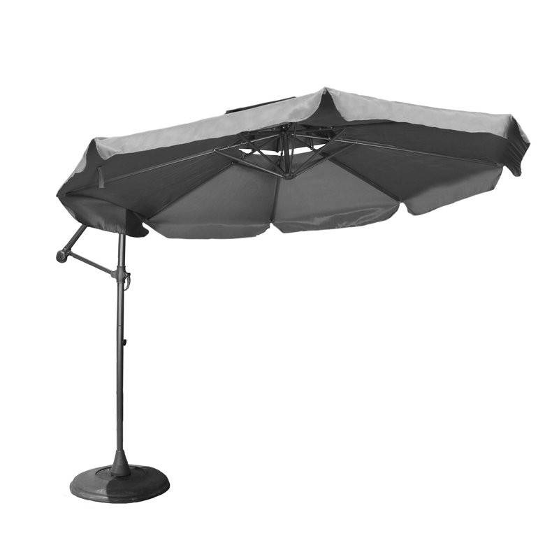 Well Liked Elaina Cantilever Umbrellas In 10' Waverly Cantilever Umbrella (View 17 of 25)