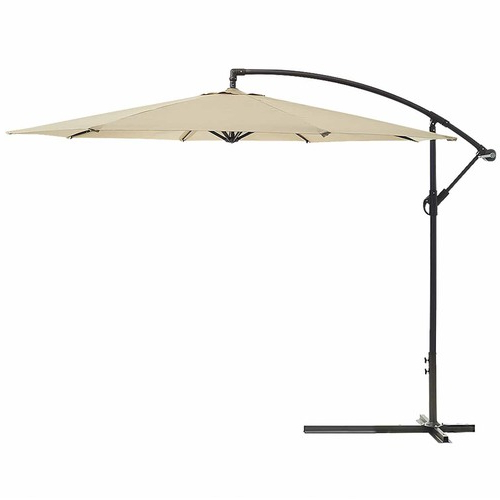 Well Liked Maldives 3M Cantilever Outdoor Umbrella Within Anna Cantilever Umbrellas (View 24 of 25)