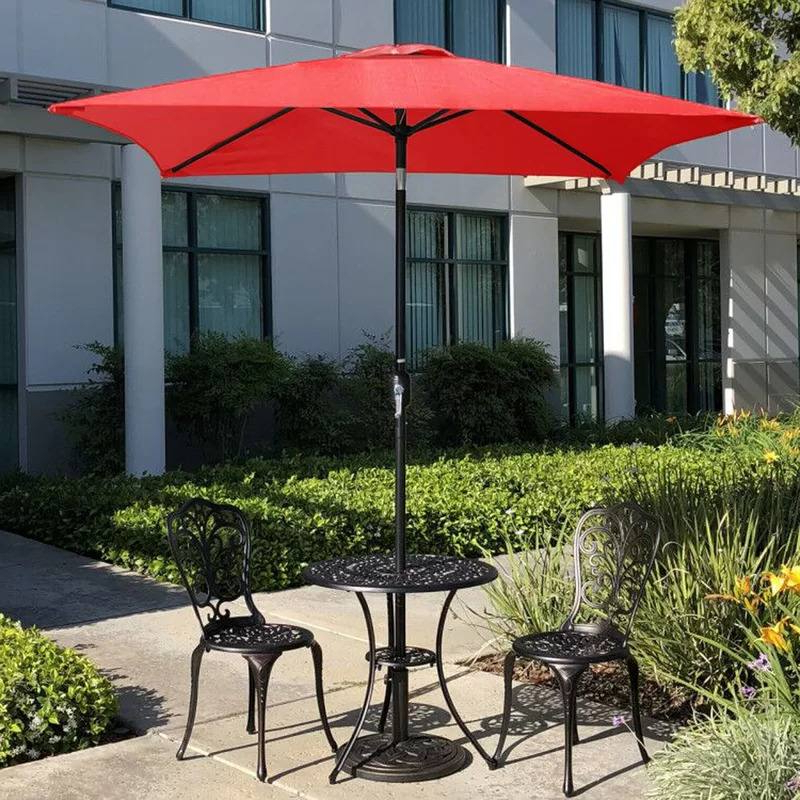 Well Liked Sheehan Half Market Umbrellas For The 7 Best Patio Umbrellas For Your Yard, Garden, Or Deck In (View 17 of 25)