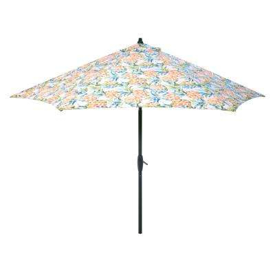 Well Liked Tropical Patio Umbrellas With Market – Tropical – Patio Umbrellas – Patio Furniture – The Home Depot (View 13 of 25)