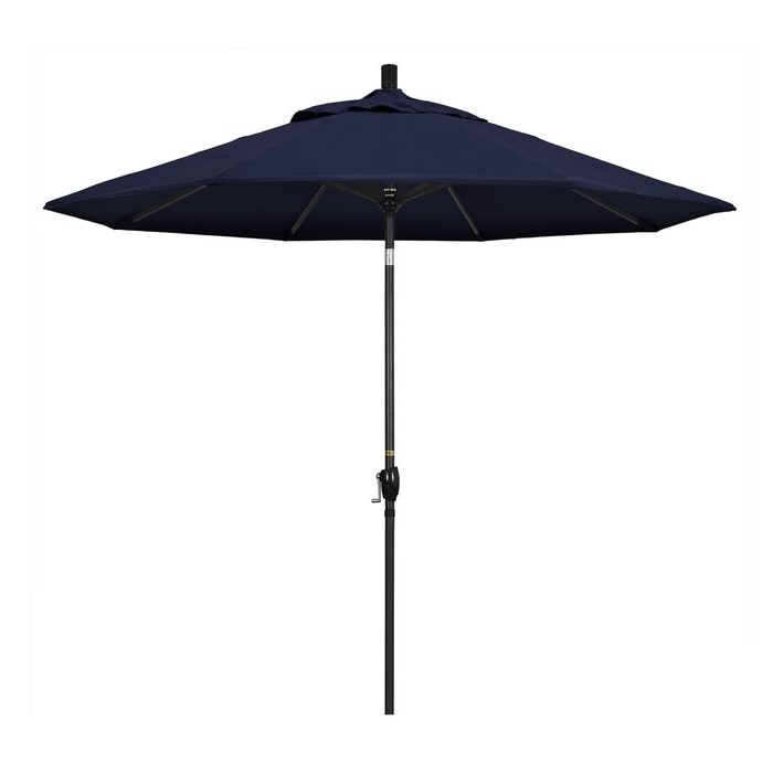 Widely Used 9' Market Umbrella Inside Hookton Crank Market Umbrellas (View 8 of 25)
