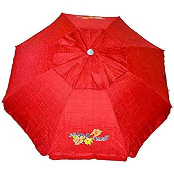 Widely Used Amazon: Easygo 8 Foot Heavy Duty High Wind Beach Umbrella Within Schroeder Heavy Duty Beach Umbrellas (View 20 of 25)