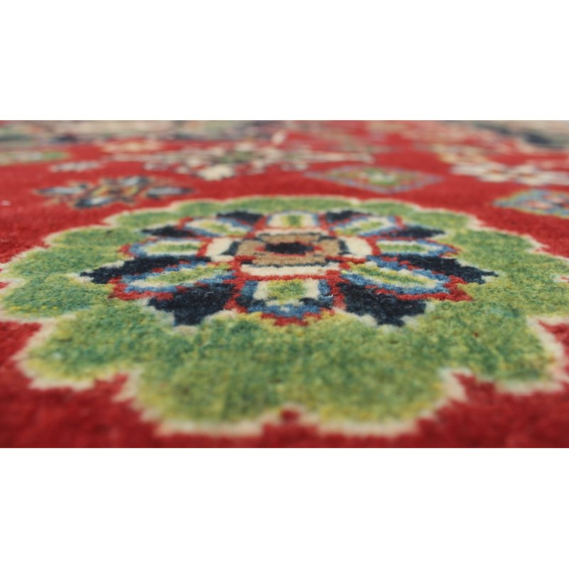 Widely Used Brubaker Market Umbrellas Within One Of A Kind Brubaker Kazak Hand Knotted Wool Red Area Rug (View 4 of 25)