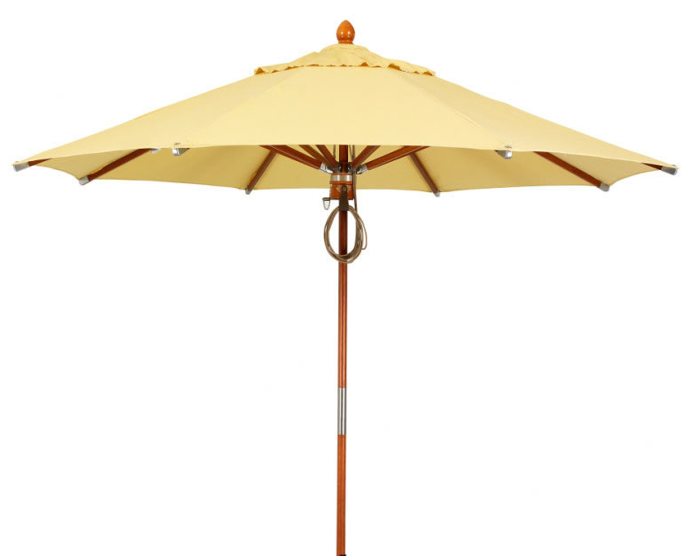 Widely Used Caravelle Market Sunbrella Umbrellas For Prestige 11' Market Umbrella (View 20 of 25)