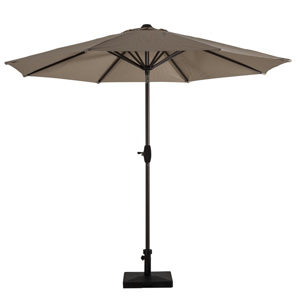 Widely Used Emely Cantilever Sunbrella Umbrellas For Shop Patio Umbrella With Tilt And Crank – Free Shipping Today (View 22 of 25)