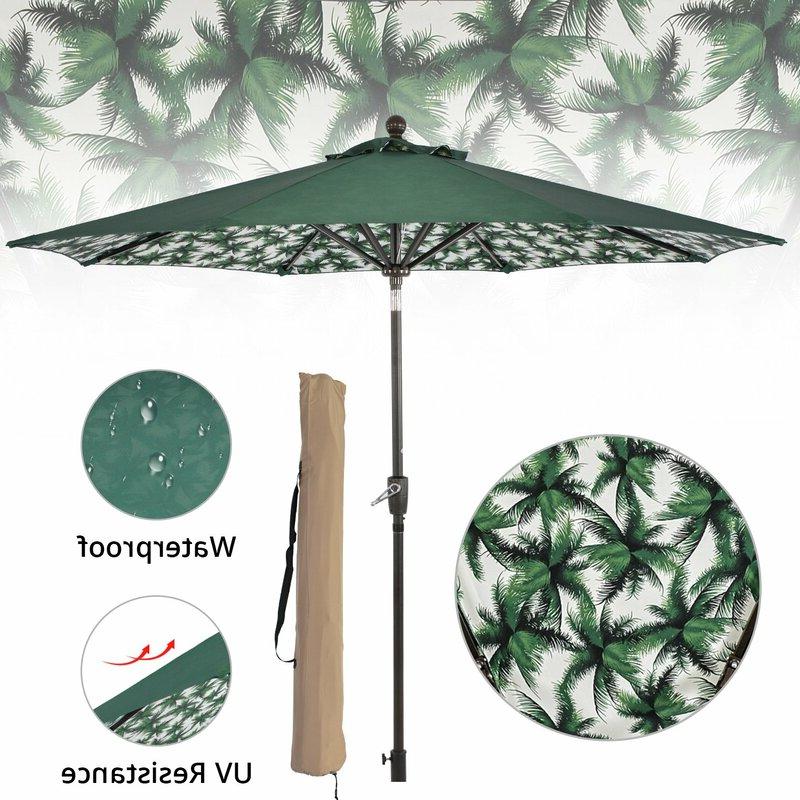 Widely Used Hurt Market Umbrellas Pertaining To Hurt 9' Market Umbrella (View 3 of 25)