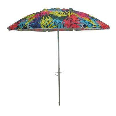 Widely Used Hyperion Market Umbrellas Pertaining To Drape – Patio Umbrellas – Patio Furniture – The Home Depot (View 11 of 25)