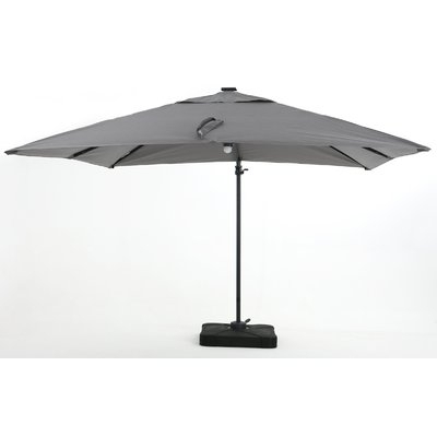 Widely Used Jendayi Square Cantilever Umbrellas Intended For Latitude Run Jendayi 95 Square Cantilever Umbrella (View 9 of 25)