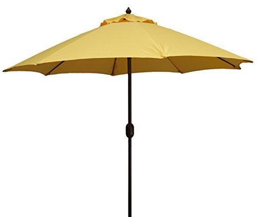 Widely Used Launceston Market Umbrellas Pertaining To Mjj Sales 11Ft Aluminum Market Umbrella Yellow (View 19 of 25)