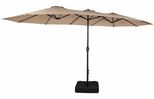 Widely Used The 7 Best Patio Umbrellas For Your Yard, Garden, Or Deck In 2019 Regarding Sheehan Half Market Umbrellas (View 18 of 25)
