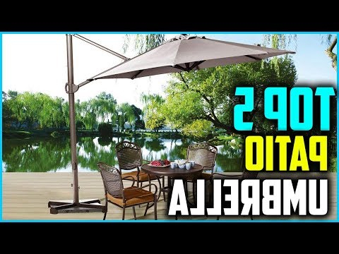 Widely Used Top 4 Best Offset Patio Umbrellas Outdoor Umbrellas Of 2019 – Youtube For Farnham Cantilever Umbrellas (View 15 of 25)