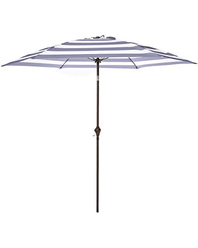 Widely Used White Patio Umbrella: Amazon In Shropshire Market Umbrellas (View 25 of 25)
