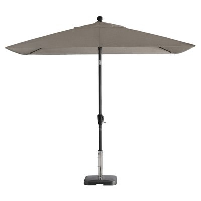 Widely Used Wiechmann Push Tilt 9' X 7' Rectangular Market Sunbrella Umbrella Within Wiechmann Push Tilt Market Sunbrella Umbrellas (View 5 of 25)