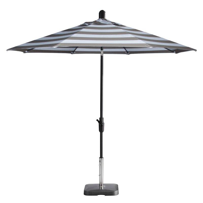 Wiebe Market Sunbrella Umbrellas Regarding Widely Used Wiebe Auto Tilt 9' Market Sunbrella Umbrella (View 22 of 25)