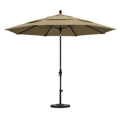 Wiechmann Push Tilt Market Sunbrella Umbrellas For Most Recent 11 Ft (View 18 of 25)