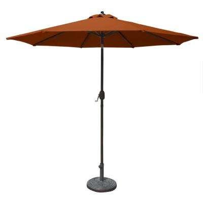 Wiechmann Push Tilt Market Sunbrella Umbrellas Regarding 2018 Mirage 9 Ft (View 15 of 25)