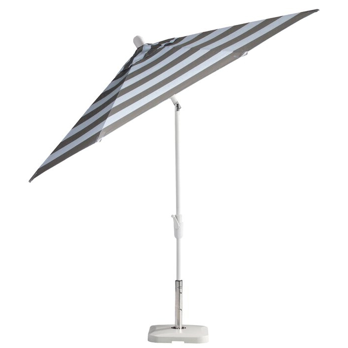 Wiechmann Push Tilt Market Sunbrella Umbrellas Within Recent Wiebe Auto Tilt 9' Market Sunbrella Umbrella (View 24 of 25)