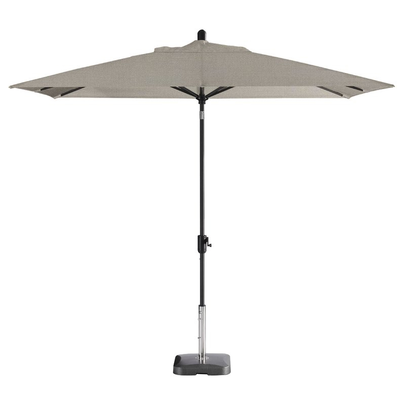 Wieczorek Auto Tilt Rectangular Market Sunbrella Umbrellas In Most Up To Date Breakwater Bay Wieczorek Auto Tilt Rectangular Market Large (View 20 of 25)