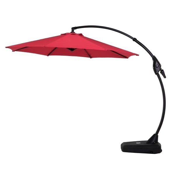Wieczorek Auto Tilt Rectangular Market Sunbrella Umbrellas With Fashionable Luxurious 10 Ft Cantilever Umbrella – Krakendesign (View 23 of 25)
