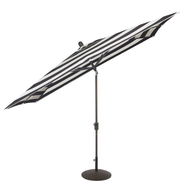 Wieczorek Auto Tilt Rectangular Market Sunbrella Umbrellas With Regard To Most Popular Wieczorek Auto Tilt 10' X  (View 24 of 25)