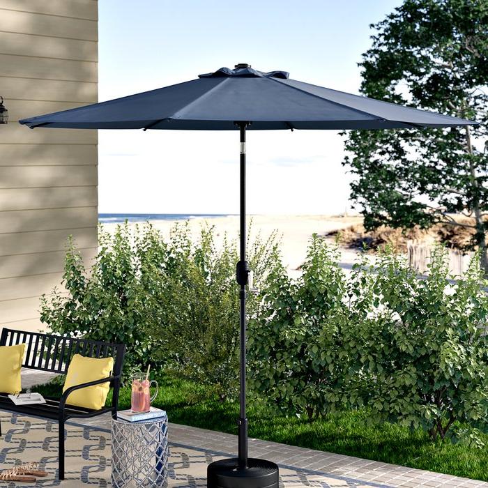 Winchester Zipcode Design Market Umbrellas For Latest Hapeville 9' Market Umbrella (View 24 of 25)
