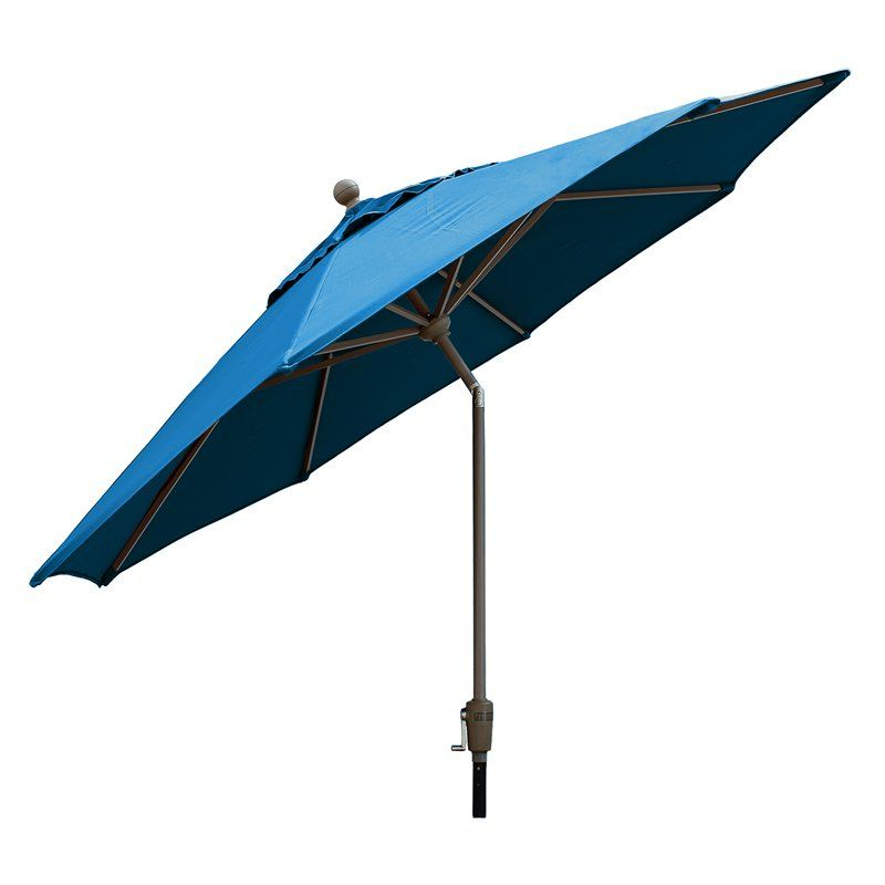 Woll Lighted Market Umbrellas Throughout Fashionable Comfort Classics 9 Ft (View 19 of 25)