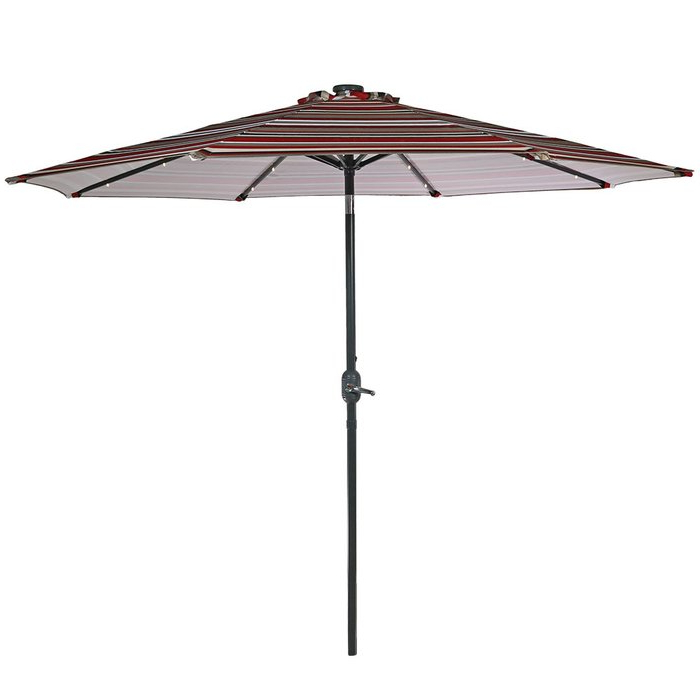 Woll Lighted Market Umbrellas With Regard To Newest Annabelle  (View 9 of 25)