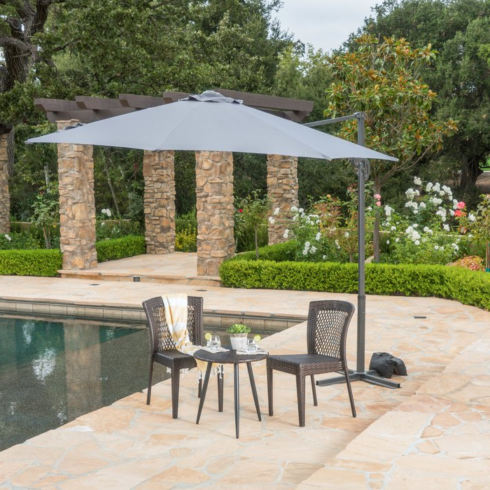 Yajaira Cantilever Umbrellas For Well Known Jaelynn  (View 8 of 25)
