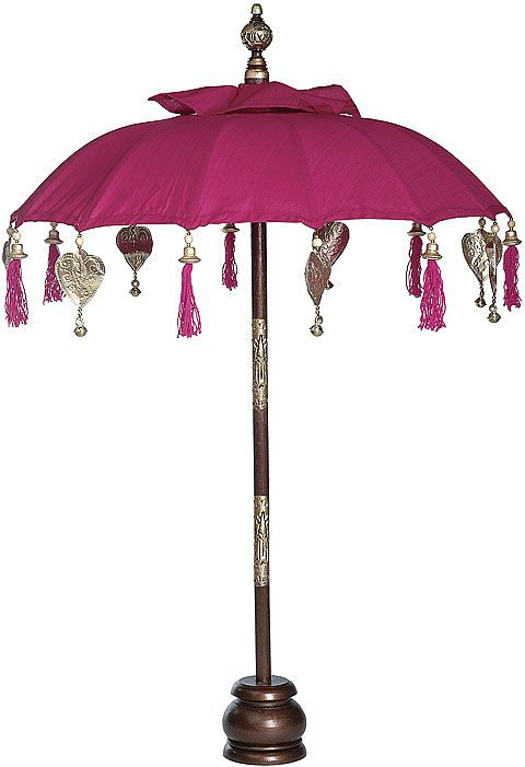 Zeman Market Umbrellas Regarding Newest Fuchsia Pink Balinese Festival Parasol $79. (View 14 of 25)