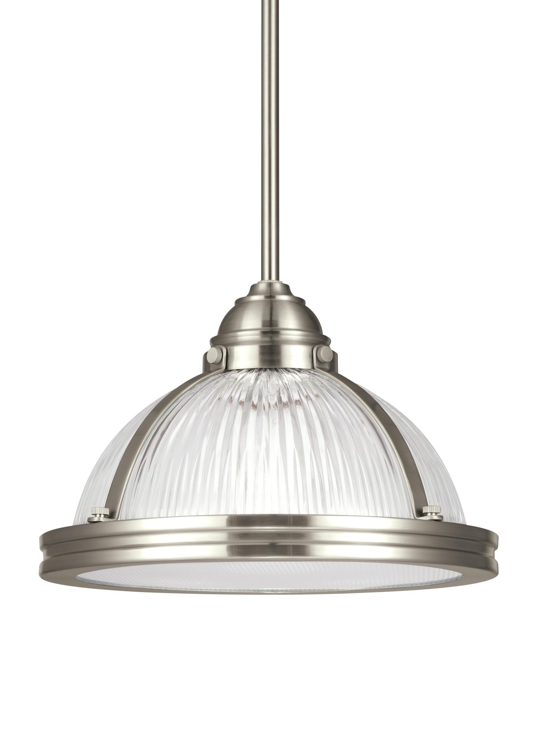 1 Light Bowl Pendant Inside 2019 Granville 3 Light Single Dome Pendants (View 10 of 25)