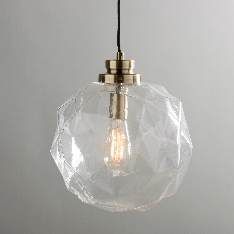 Featured Photo of 1 Light Geometric Globe Pendants
