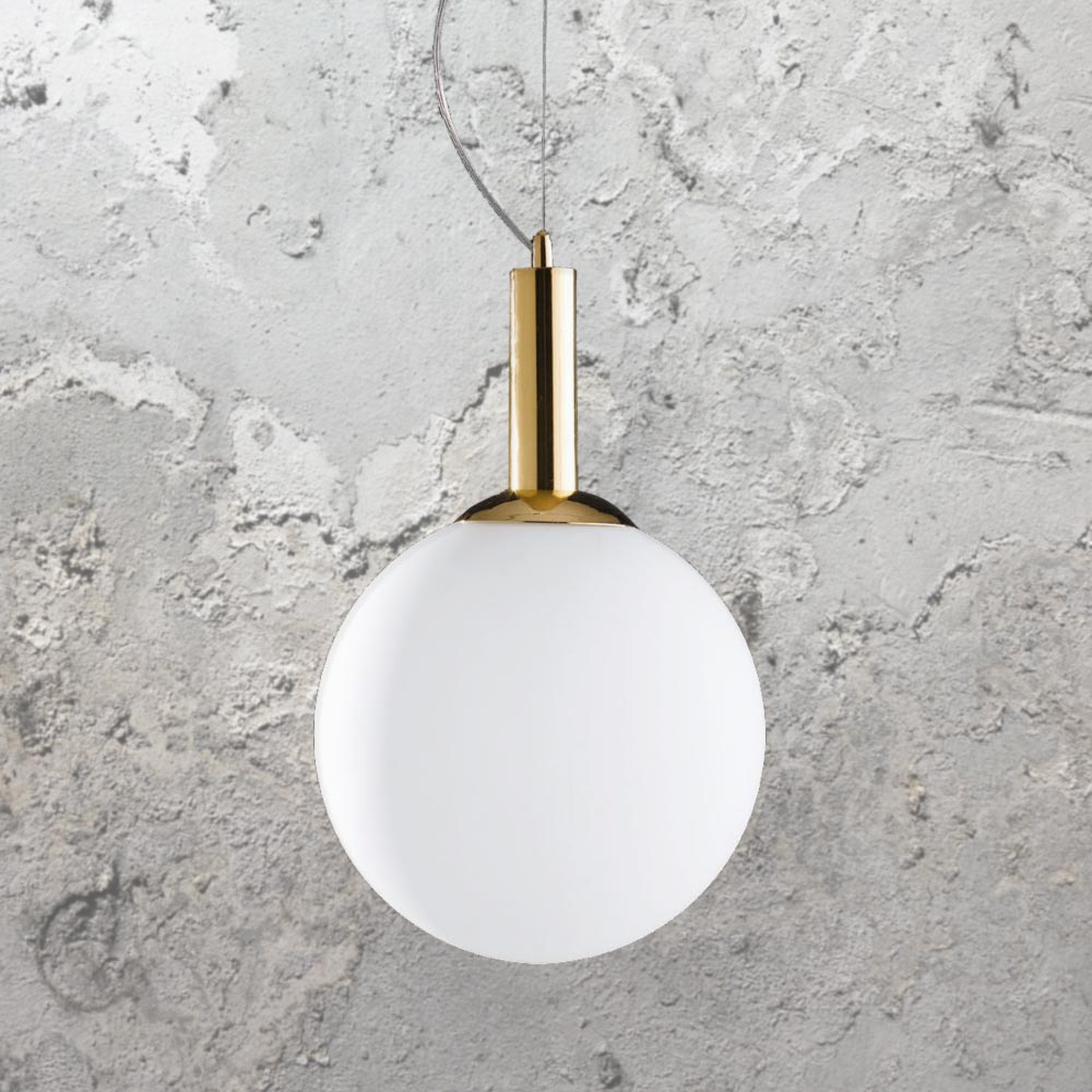 1 Light Geometric Globe Pendants Regarding Widely Used Gold Globe Pendant Light Cl  (View 22 of 25)