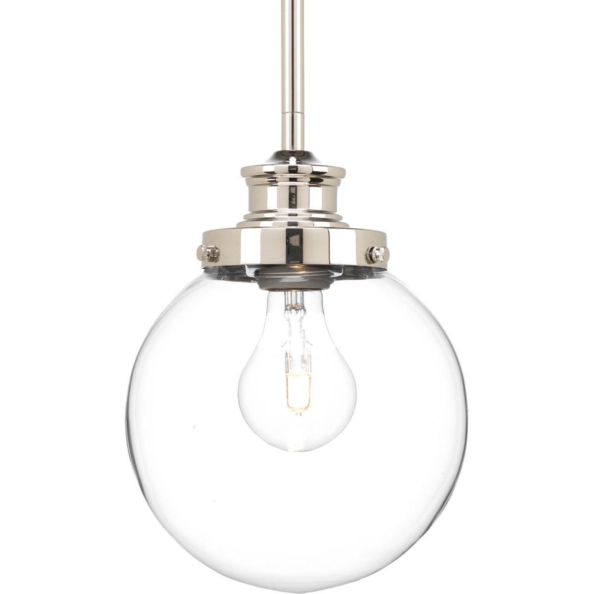 1-Light Globe Pendants inside Most Popular Cayden 1-Light Single Globe Pendant