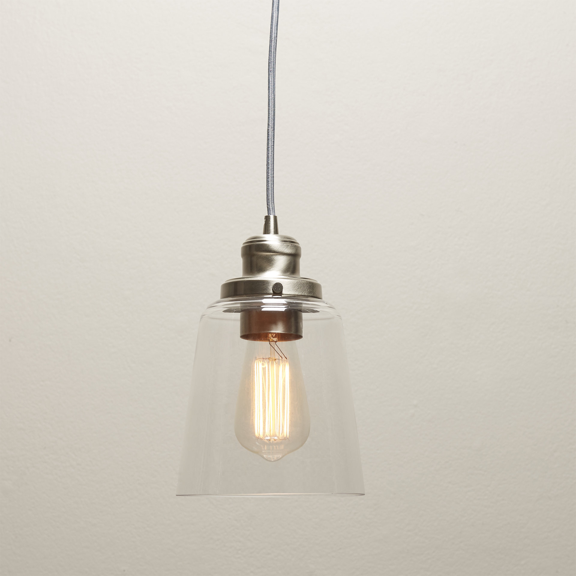 1 Light Single Bell Pendant For Widely Used Houon 1 Light Cone Bell Pendants (Gallery 8 of 25)