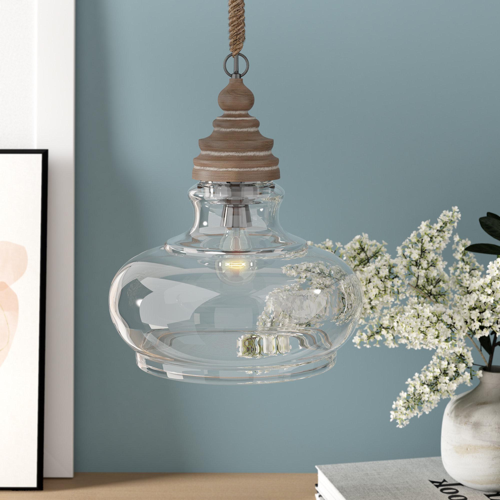 1 Light Single Bell Pendants Intended For Trendy Maelle 1 Light Single Bell Pendant (Gallery 7 of 25)