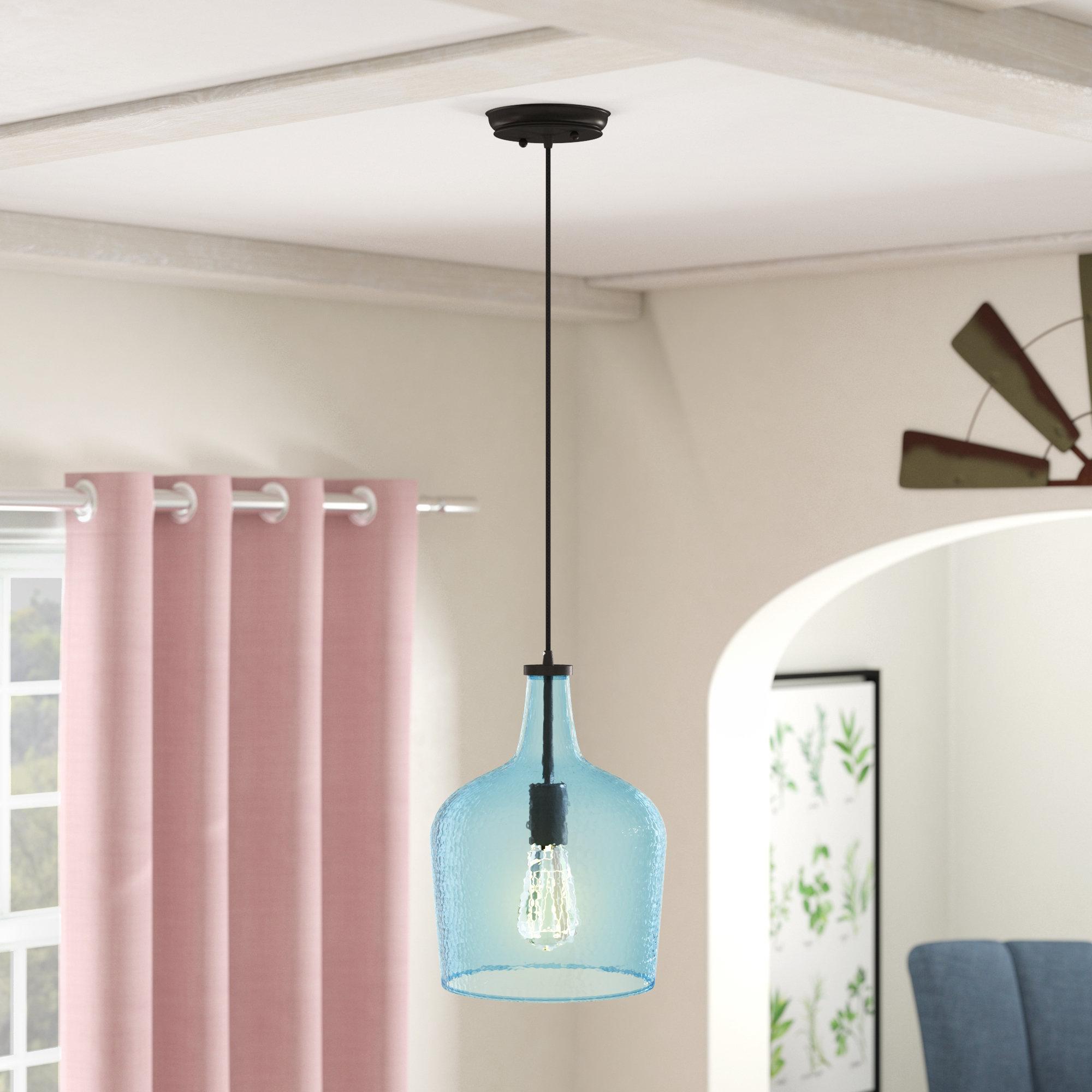 1 Light Single Bell Pendants Throughout Favorite Scruggs 1 Light Single Bell Pendant (View 11 of 25)