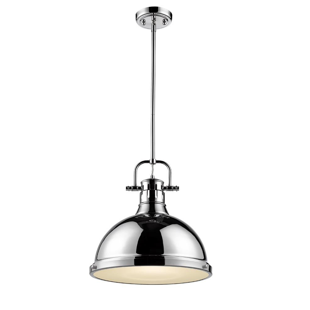 1-Light Single Dome Pendants with Most Popular Bodalla 1-Light Single Dome Pendant