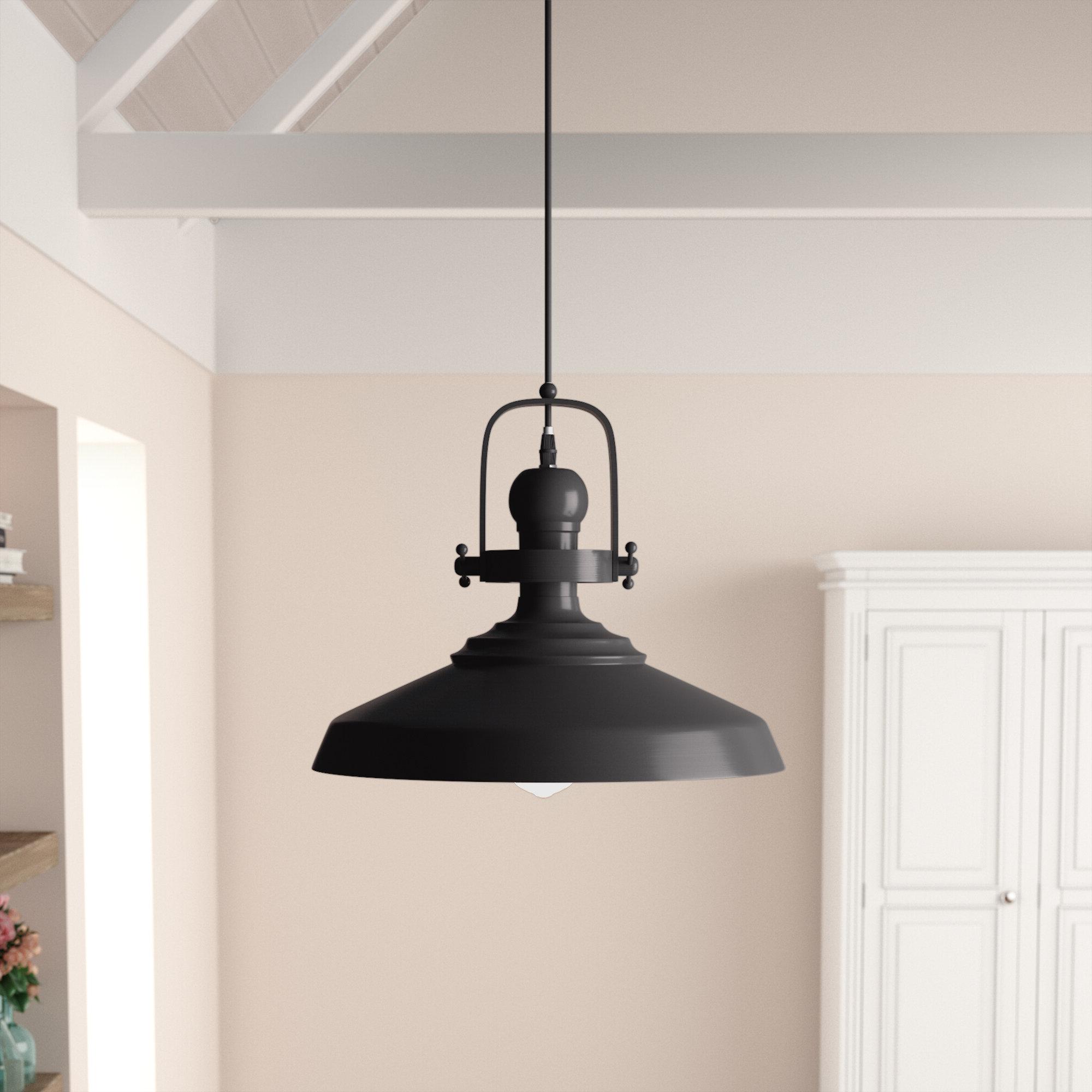 1-Light Single Dome Pendants with Recent Estelle 1-Light Single Dome Pendant