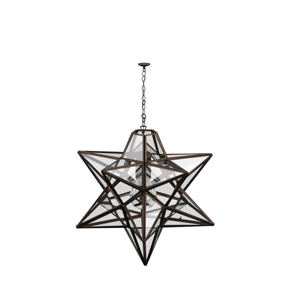1-Light Single Star Pendant with Famous 1-Light Single Star Pendants