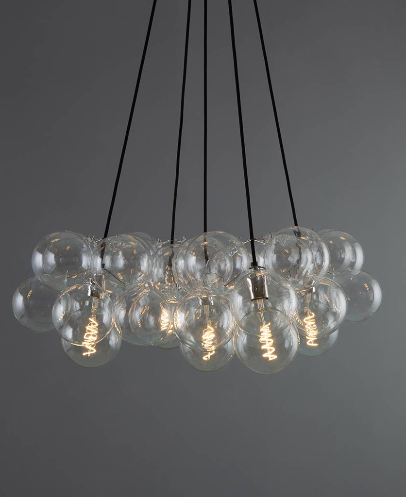 1 Light Unique / Statement Geometric Pendants In Most Recently Released Bubble Chandelier Light (Gallery 15 of 25)