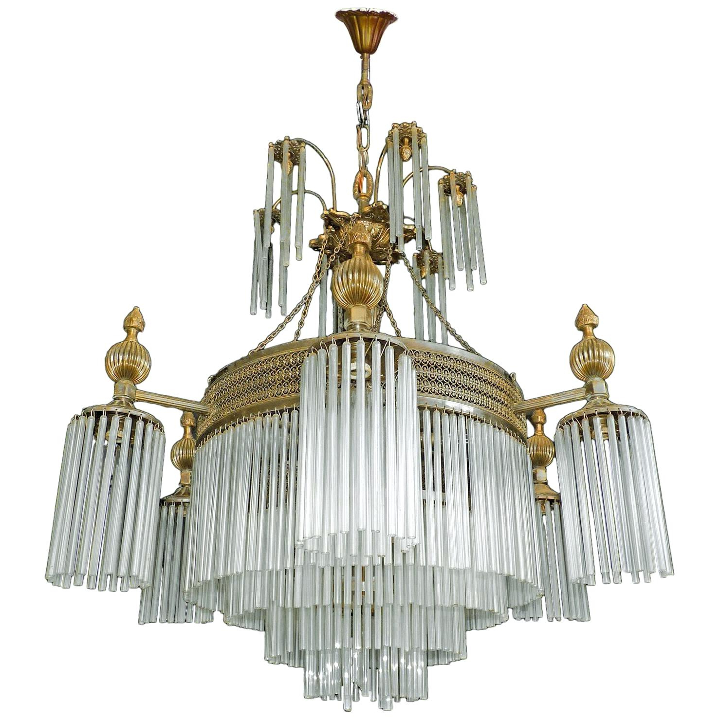 12 Light Chandelier Pertaining To Current Vroman 12 Light Sputnik Chandeliers (View 1 of 25)
