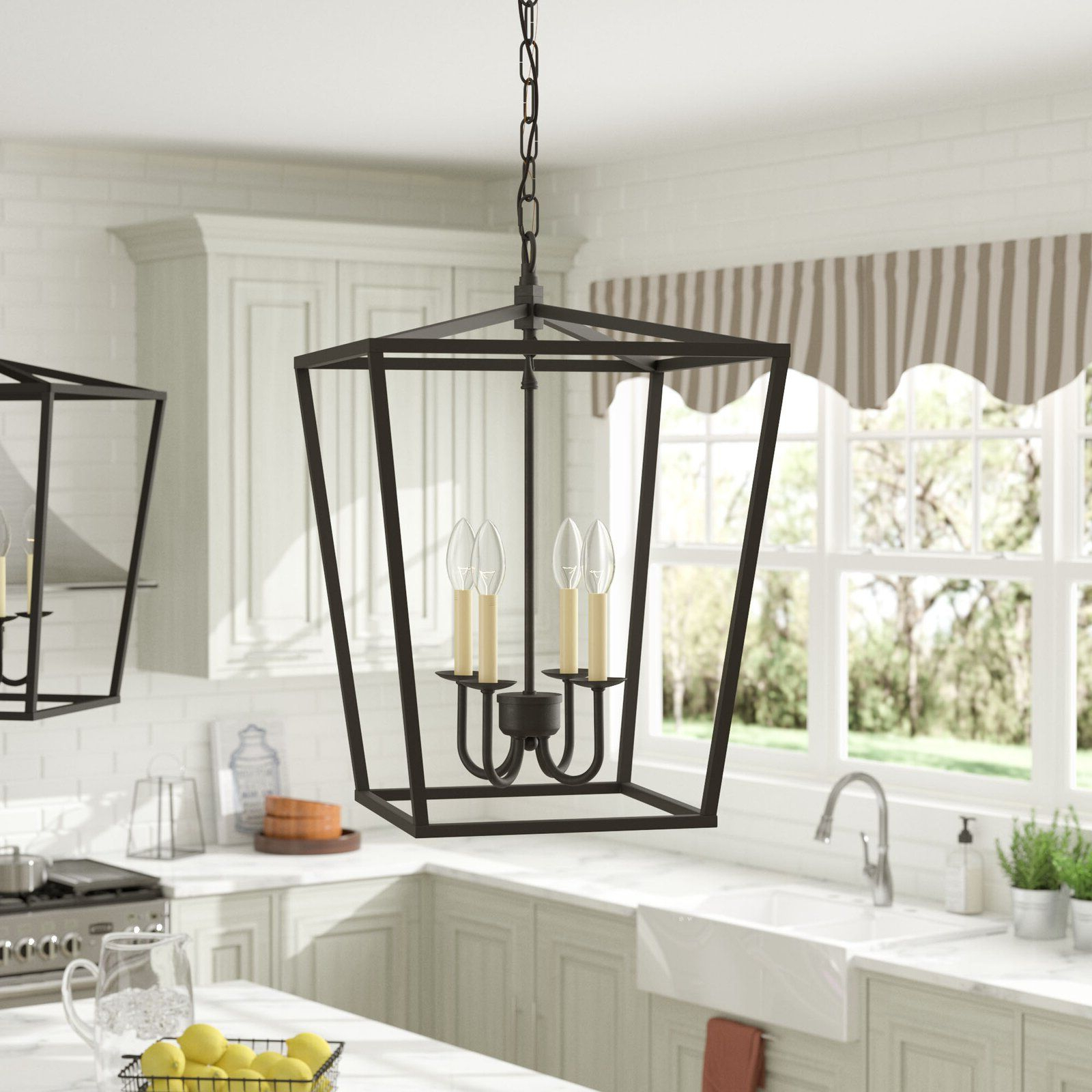 200 With Fashionable Finnick 3 Light Lantern Pendants (View 11 of 25)