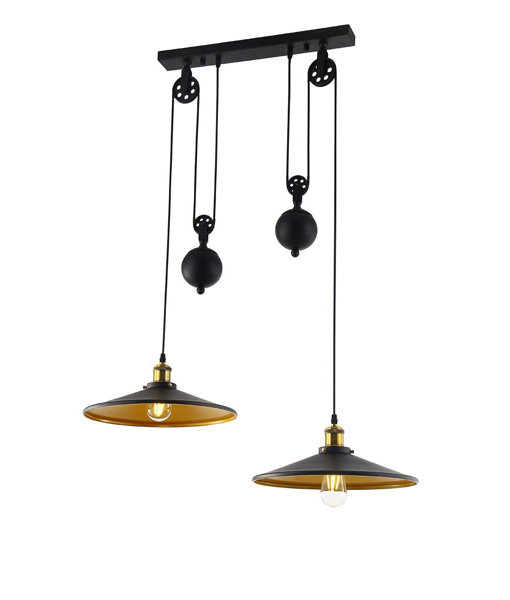 2019 A Metal Rise And Fall Pendant Ideal For Dining Tables Or Regarding Ariel 3 Light Kitchen Island Dome Pendants (View 1 of 25)