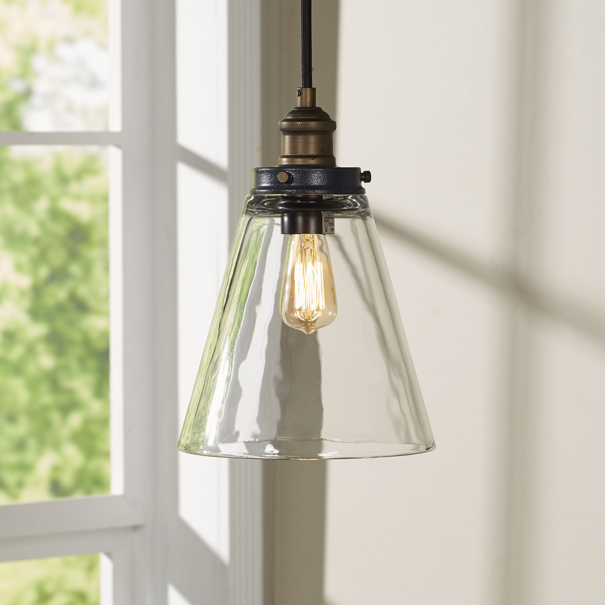 2019 Akakios 1 Light Single Bell Pendants Pertaining To Bedford 1 Light Bell Pendant (View 2 of 25)