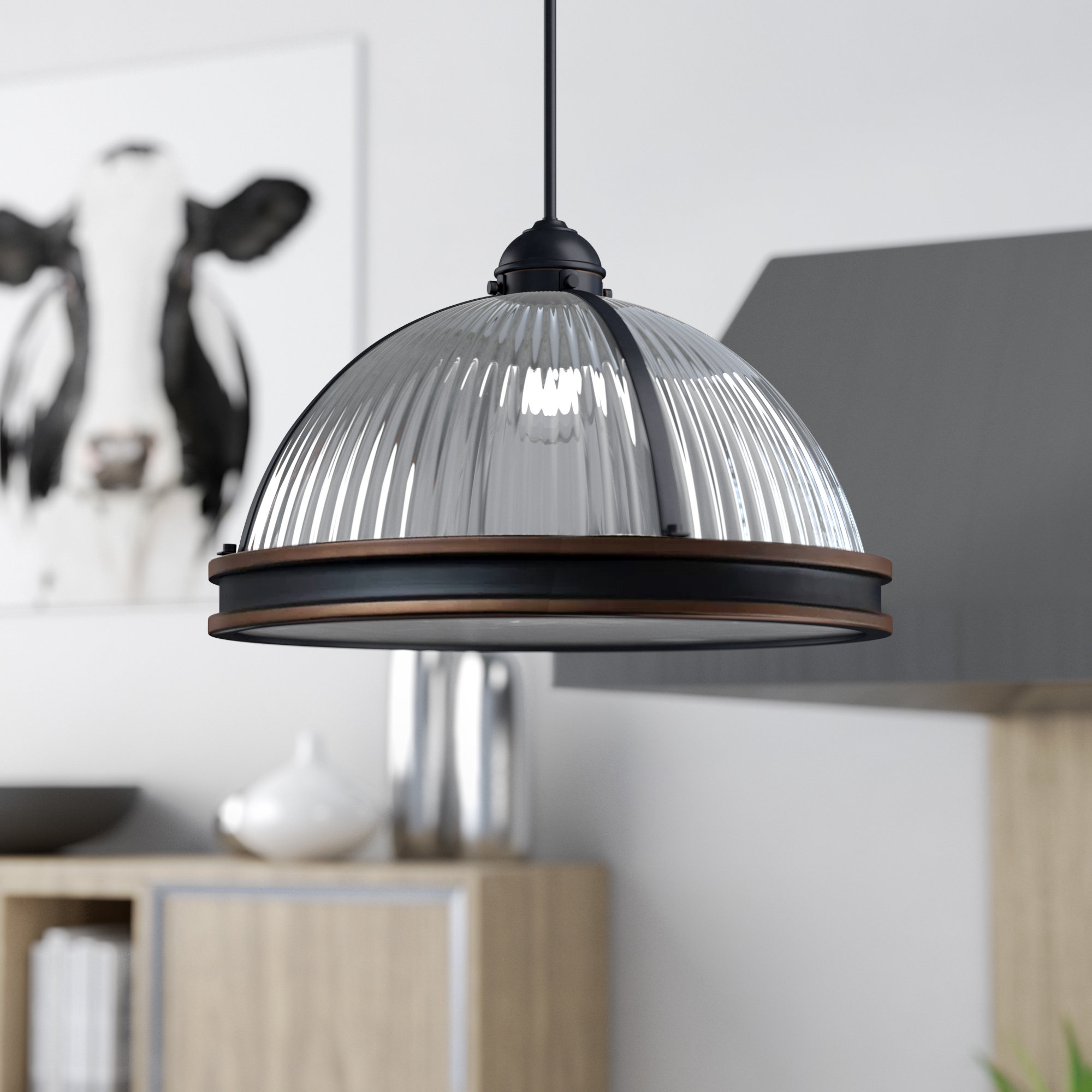 2019 Amara 3 Light Dome Pendants With Palisade 3 Light Dome Pendant (View 1 of 25)